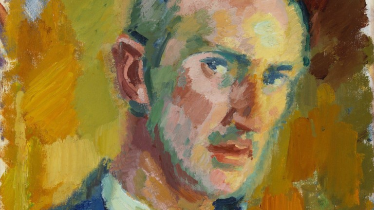 Magnus Enckell: Self-Portrait (1918). Finnish National Gallery / Ateneum Art Museum. Photo: Finnish National Gallery / Hannu Pakarinen.