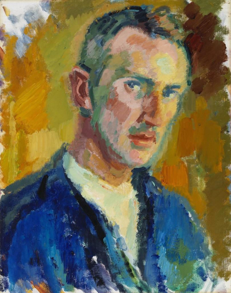 Magnus Enckell: Self-Portrait (1918). Finnish National Gallery / Ateneum Art Museum. Photo: Finnish National Gallery / Hannu Pakarinen.