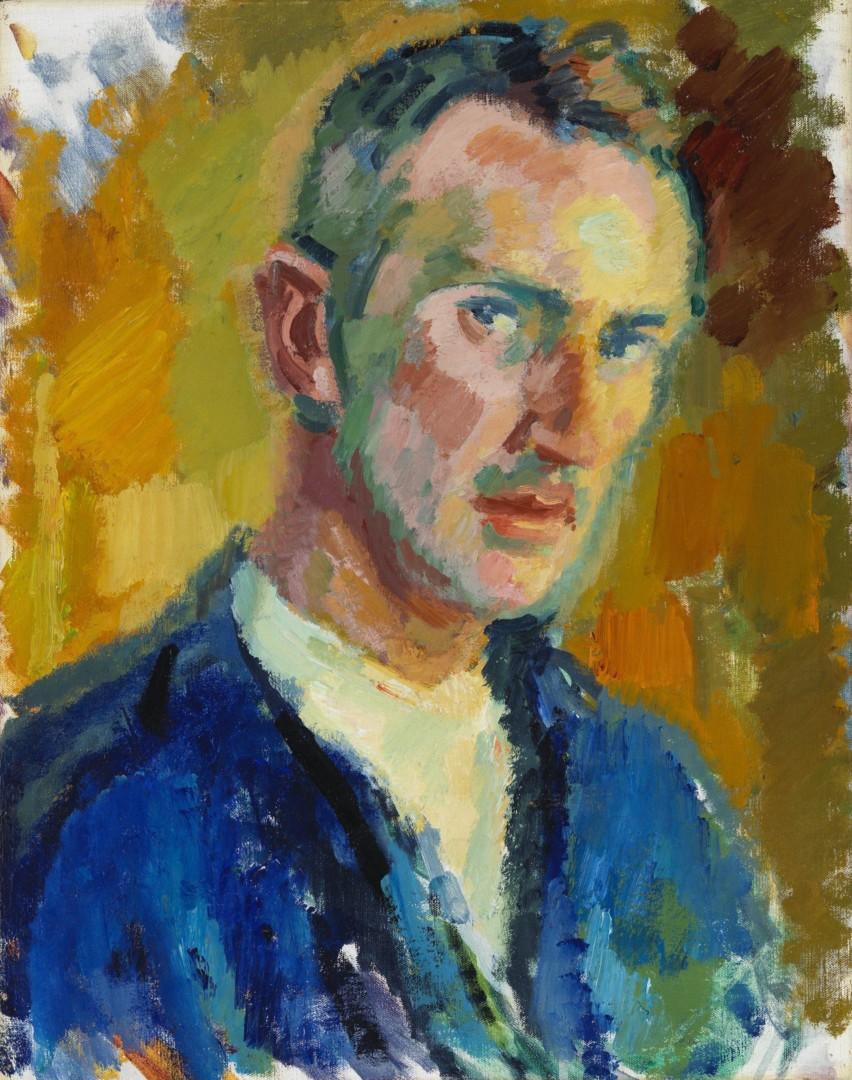 Magnus Enckell: Omakuva (1918). Kansallisgalleria / Ateneumin taidemuseo. Kuva: Kansallisgalleria / Hannu Pakarinen.