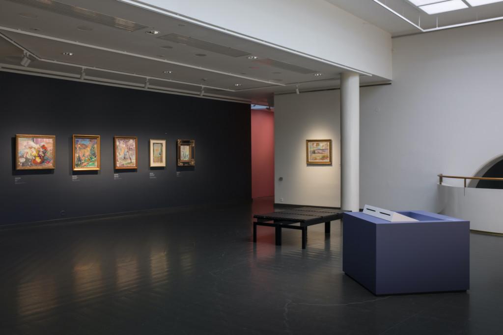 Photo of the Magnus Enckell exhibition at the Ateneum.