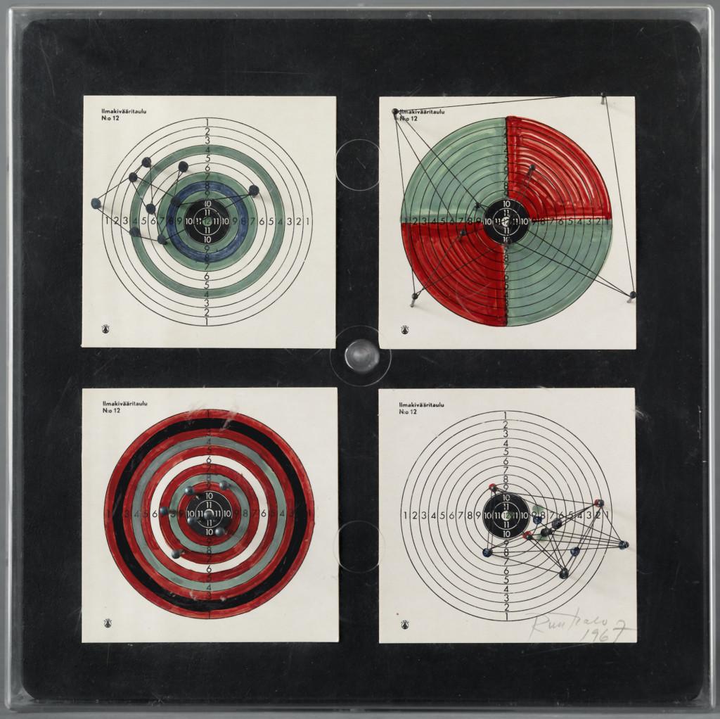 Bild på Eino Ruutsalos konstverk Box 504 från 1967.