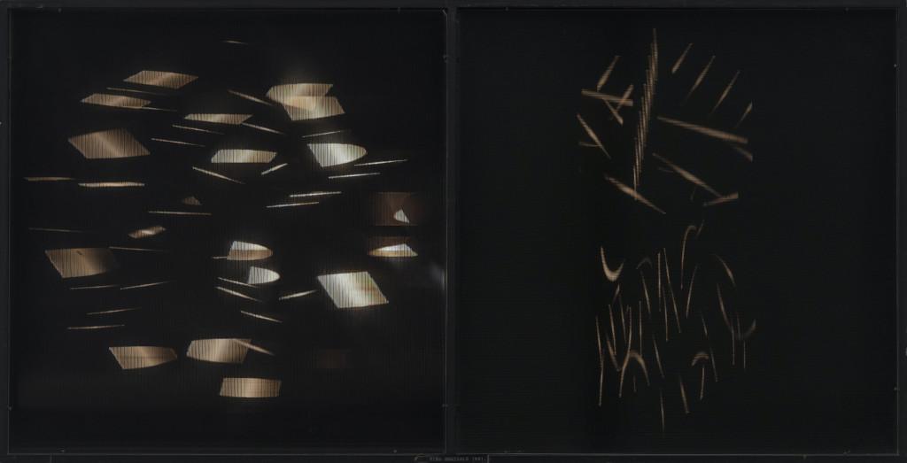 Bild på Eino Ruutsalos ljuskinetiskt verk Nova 2 från 1970